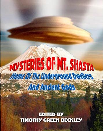 Mysteries of Mt. Shasta, the Book Cover